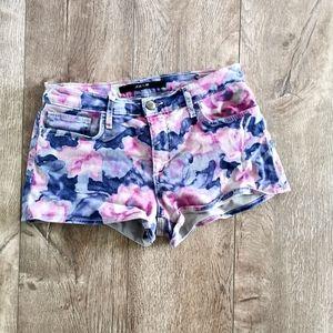 Joe's jeans watercolor shorts size 28